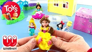 Disney Princess Little Kingdom Dolls | Unboxing Toy Play: Belle | Toy Store