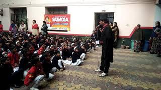 Satmola Magic Show in Sitapur(Saigal City Montessori Jr. High school)