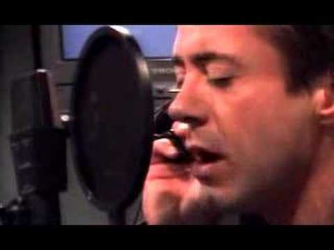 Robert Downey Jr. sings