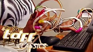 Woman with long fingernails | taff classics | ProSieben