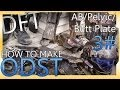 How To Make : ODST Costume - Ab/Pelvic/Butt Plates  3#