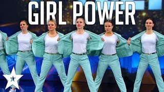 POWERFUL Female Dance Group On Denmark's Got Talent 2019! | Got Talent Global