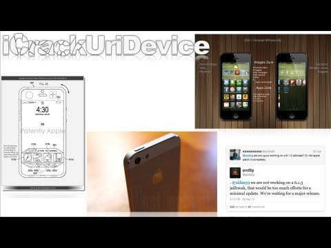 iOS 7 Details, Untethered Jailbreak 6.1.3 Status, Redesigned iPhone 5S Home Button & More