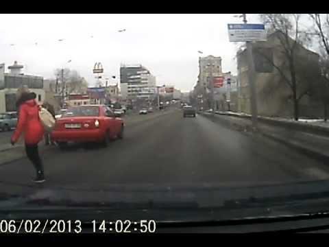 Сбил на пешеходном переходе