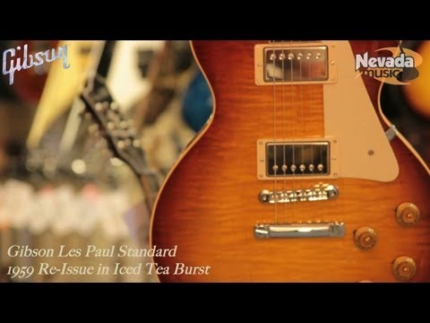 Gibson 1959 Les Paul Standard Custom Shop Re-Issue - Quick Look @ Nevada Music UK