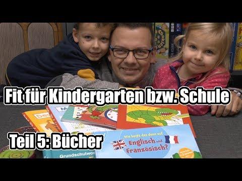 Fit für Kindergarten & Schule Teil 5 - Top Bücher (Spaß, Basteln, Lernen, Malen)