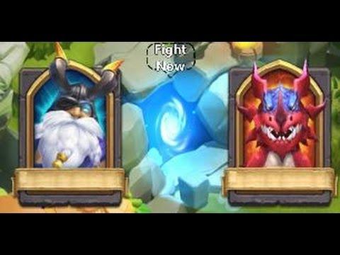 Castle Clash: Hero Trials Update Game play!!!