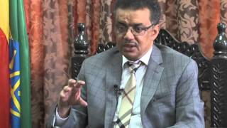 Dr. Tedros Adhanom interview with FBC and Addis TV 2015 Part-2