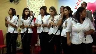 GRANDIOSA COMEMORAÇÃO DO 4º ANIVERSARIO DA IGREJA EVANGELICA PENTECOSTAL RESTAURAR DE CUIABÁ-MT AS LEVITAS