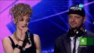 Deep Zone Project - live @ X Factor Bulgaria (27.01.2015)