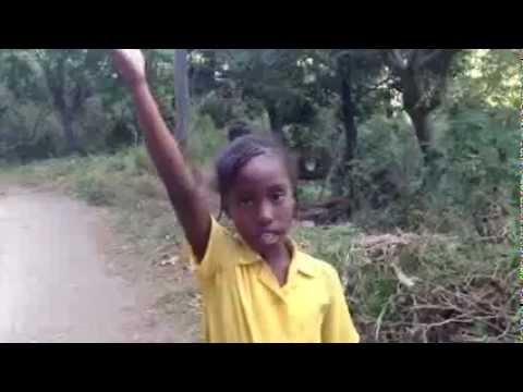 Jamaican Girl Gives A Direction to her House( Must watch)!