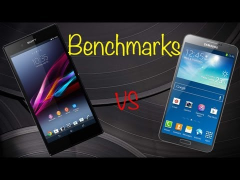 Samsung Galaxy Note 3 vs Sony Xperia Z Ultra Benchmark Comparisons & Fatigue Test