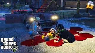 GTA 5 - I Tried to Drive The SCARY GHOST Car at The HAUNTED Sawmill