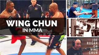 Wing Chun in MMA / UFC - (Tony Ferguson, Anderson Silva, Jon Jones)