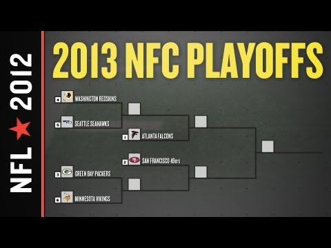 2012 – 2013 NFL Playoff Picture, Bracket and Schedule: NFC Edition