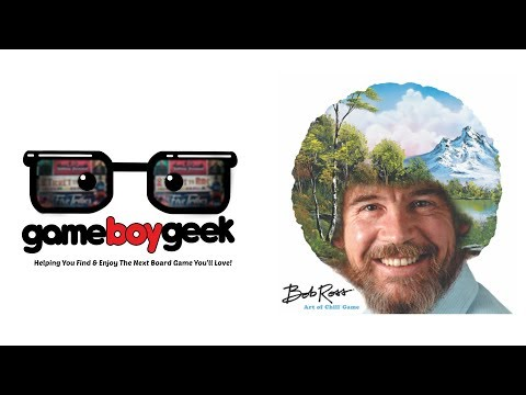 Bob Ross: The Art of Chill Review with the Game Boy Geek