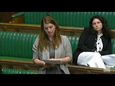 Alison McGovern MP - Global Poverty Debate
