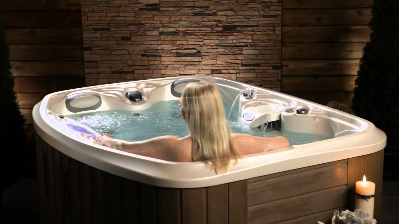 the spirit hot tub by marquis youtube. Black Bedroom Furniture Sets. Home Design Ideas