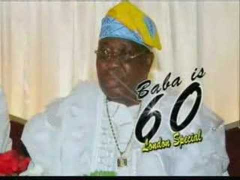 At Dr. Sikiru Ayinde Barrister's 60th Birthday In London! video