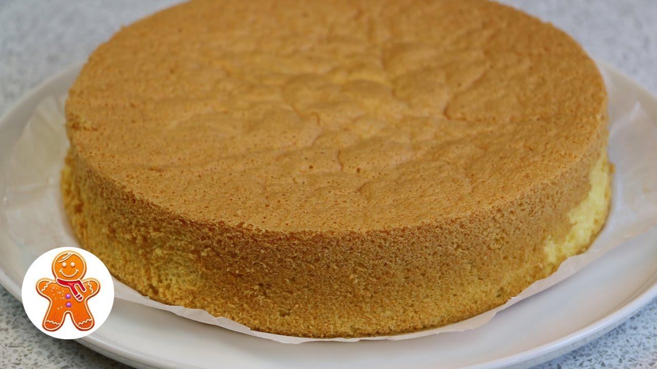 Самый обычный бисквит рецепт