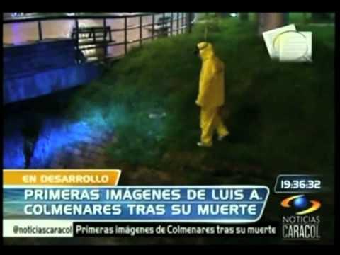 Primeras imágenes del cadáver de Luis Colmenares