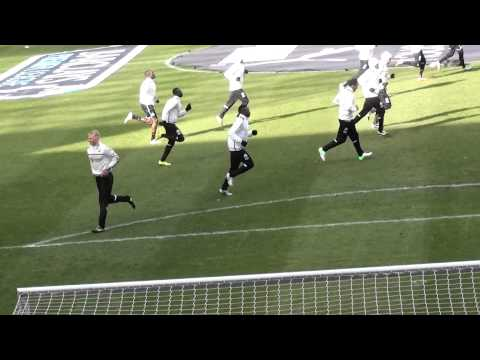 Mapou Yanga-Mbiwa Newcastle United Training Session