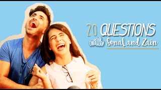 Zain Imam and Sonal Vengurlekar | 20 QUESTIONS