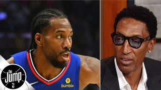 Scottie Pippen reacts to Kawhi Leonard's MJ-esque one-handed pump fake | The Jump