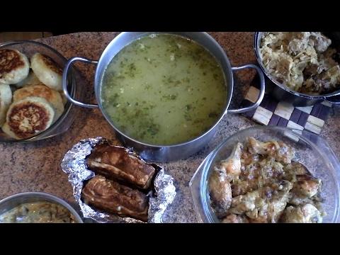 Чем я кормлю семью, готовлю на пару дней. 4 часть