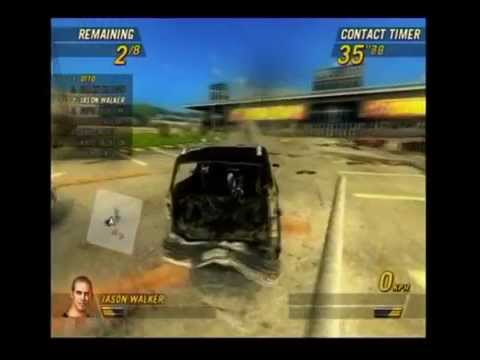 FlatOut 2: Parking Lot Derby (PS2)