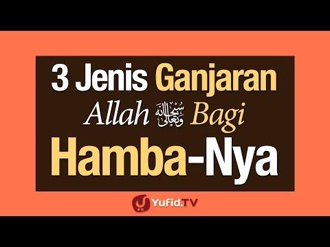 Tiga Jenis Ganjaran Allah Bagi Hamba-Nya