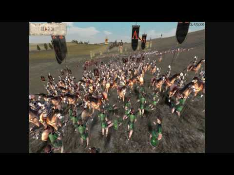 Rome Total War Online Battle #1708: Macedon vs Greek City-States