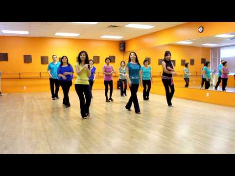Something In The Air - Line Dance (Dance & Teach in English & 中文)