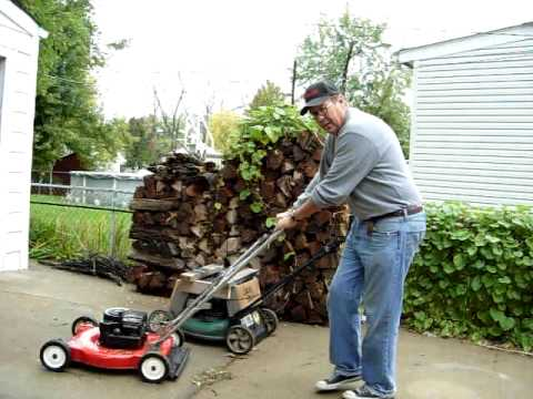 The Quot Jack Stack Quot I Had A Lawn Mower Storage Problem