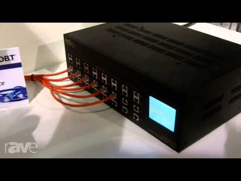 CEDIA 2013: Leaf Audio Introduces LTHDMI2020E 20 x 20 HDBaseT Matrix System