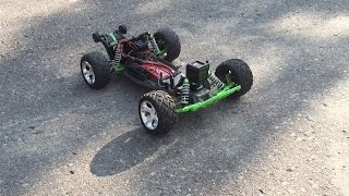 Gopro Session onboard bashing with my Traxxas Rustler