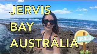 Um dia em Jervis Bay na Austrália