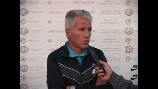 Marin Dună - antrenor CS Ştefăneşti