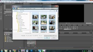 How to Import Files for your Project in Adobe Premiere Pro