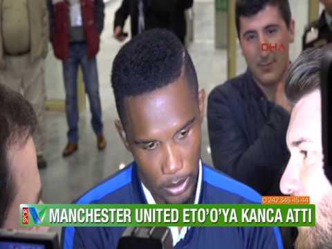 Samuel Eto'o'ya Manchester United'dan kanca