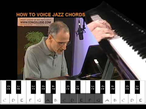 CCM Instructional Video: Mark Mercury - Piano Techniques (Clusters - How To Voice Jazz Chords)