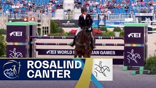 Rosalind Canter takes Individual Gold in Eventing! | FEI World Equestrian Games 2018