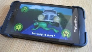 Frog Race Free for BlackBerry 10