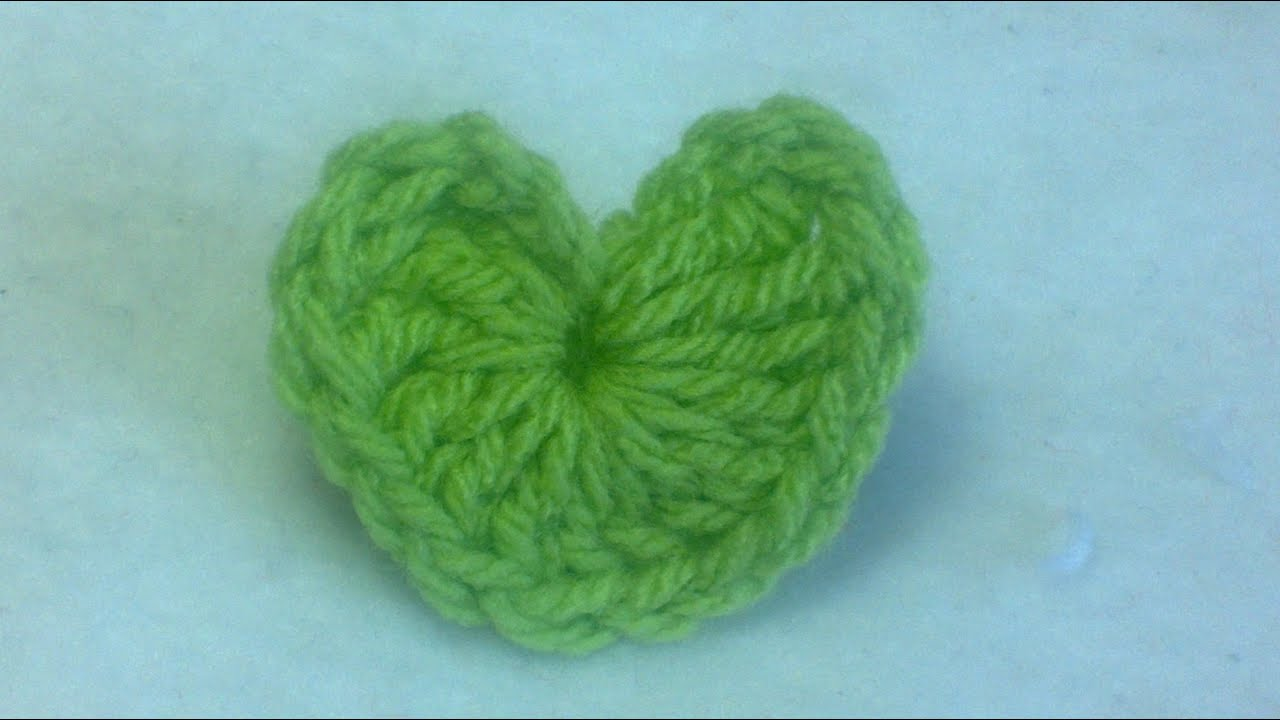 Crochet Tutorial Heart : Heart Crochet Tutorial - YouTube