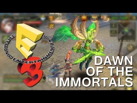 E3 2014: Dawn Of The Immortals | Ios Iphone   Ipad Hands-on - Appspy video