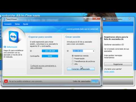 TeamViewer - Conectar remotamente con un pc con TeamViewer
