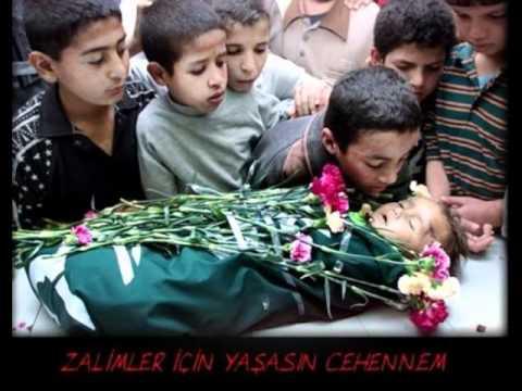 Sedat Uçan – Kan ağlıyor şu Filistin dinle, İlahi sözleri