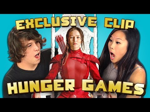 REACT SPECIAL: Exclusive Hunger Games Mockingjay Pt 2 Clip!