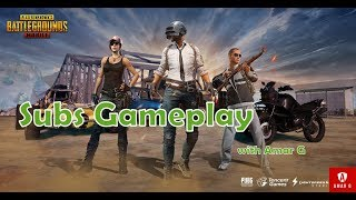 PUBG MOBILE 📱 SUBS GAMEPLAY || SMG's Challenge 😍😍