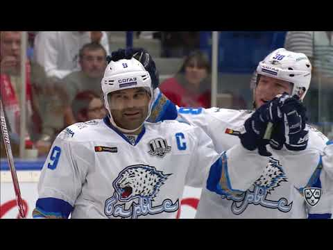 Barys 5 Vityaz 1 10 September  2017 Highlights